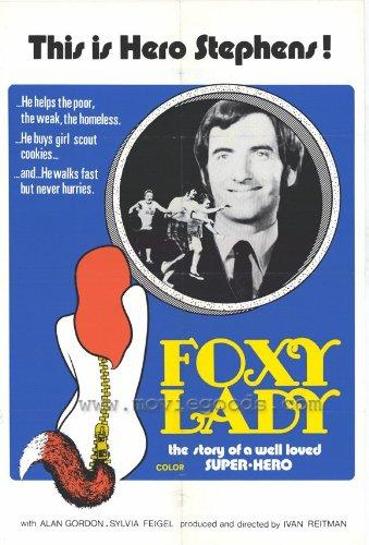 Foxy Lady Movie Poster (27 x 40 Inches - 69cm x 102cm) (1972) -(Alan Gordon)(Sylvia Feigel)(Robert McHeady)(Patrick Boxill)(Nicole Morin)
