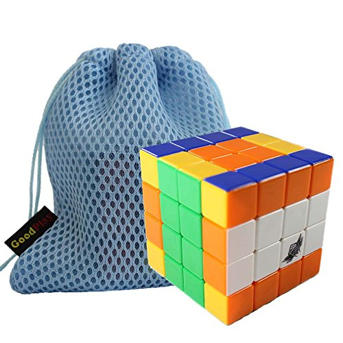 GoodPlay Cyclone Boys 4x4x4 Stickerless Speed Cube(+ One Customized Cube Bag)