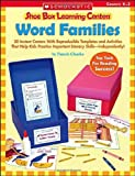 Word Families (Shoe Box Learning Centers) (0439537959) by Chanko, Pamela