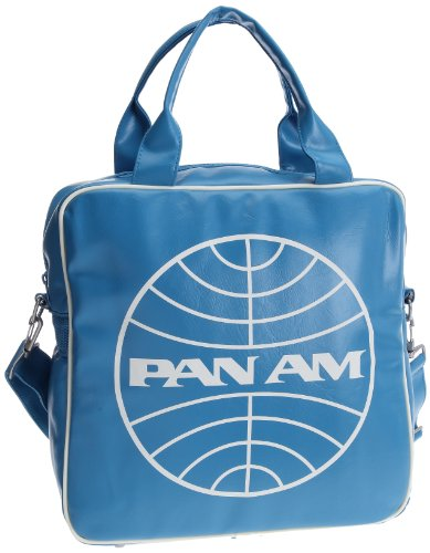 logoshirt-pan-am-globe-record-bag-sac-bandouliere-turquoise-synthetique