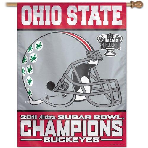Ohio State Buckeyes Flag. Wincraft Ohio State Buckeyes Sugar Bowl Champion 27X37 Vertical Flag. Price: $27.99. Sale Price: $27.99