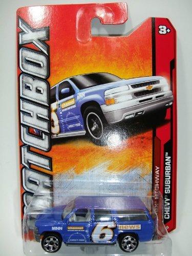 Matchbox MBX Highway Chevy Suburban Blue #89/120