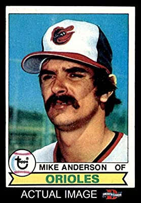1979 Topps # 102 Mike Anderson Baltimore Orioles (Baseball Card) Dean's Cards 5 - EX