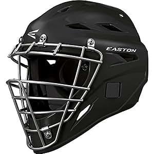 Easton Black Magic Catchers Helmet, Black
