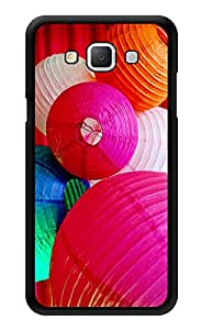 """Humor Gang Paper Lanterns Cute Printed Designer Mobile Back Cover For """"Samsung Galaxy j7"""" (3D, Glossy, Premium Quality Snap On Case)"""