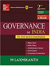 Governance in india by m laxmikanth