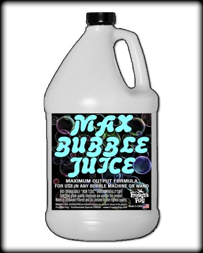 1 Gallon - MAX Bubble Juice Fluid - 10x the Bubbles from Standard Machines (The Juice Standard compare prices)