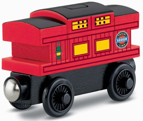 Fisher-Price Thomas the Train Wooden Railway Musical Caboose (Thomas Wooden Railway Cars compare prices)