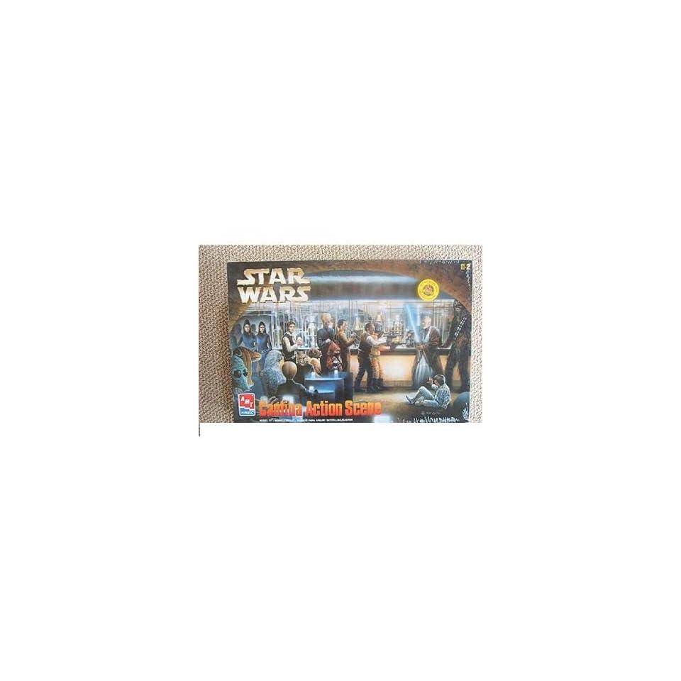 AMT Ertl Star Wars Cantina Action Scene Model Kit 8205 on PopScreen