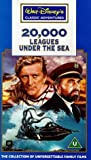20,000 Leagues Under The Sea (1954) (Disney) [VHS]