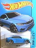 Hot Wheels, 2015 HW City, BMW M4 [Blue] Die-Cast Vehicle #24/250