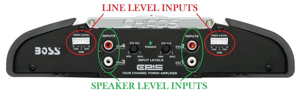 boss audio ce404 chaos epic 400 watts full. Black Bedroom Furniture Sets. Home Design Ideas