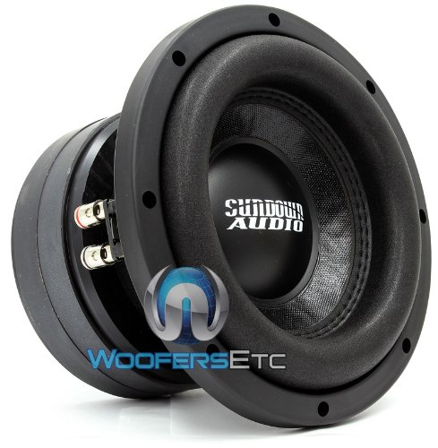 "New E8V3D2 Sundown Audio Pro 8"" Sub Dvc 2 Ohm 300W Rms Car Audio Bass Subwoofer"