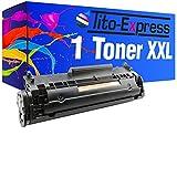 Toner-Patrone XL PlatinumSerie Schwarz für HP Q2612A 12A...