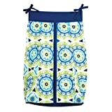 Trend Lab Waverly Solar Flair Diaper Stacker, Blue/Green