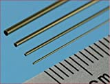 """Slide Fit Brass Tubes 1.1mm, 1.3mm, 1.5mm and 1.7mm (12"""" Long) - SFT8"""