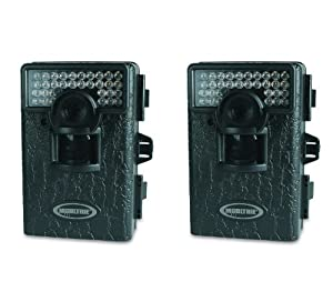 Buy (2) MOULTRIE Game Spy M-80 IR Infrared 5.0 MP Mini Digital Trail Game Cameras by Moultrie