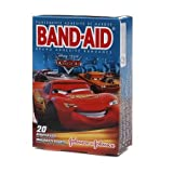 Band-aid Disney Cars Bandages 20 Ct (Pack of 6)