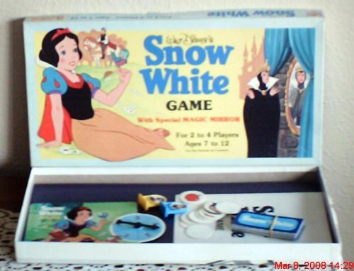 Walt Disney's Snow White Game 1980 - 1