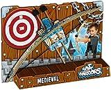 Soft Warriors - Arco con flechas de caballero medieval (Blue Rocket SW0012H)