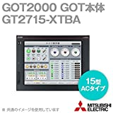 三菱電機 GT2715-XTBA GOT2000 GOT本体 (15型) (解像度 1024×768) (マルチタッチ対応) (ACタイプ) (パネル色:黒) NN