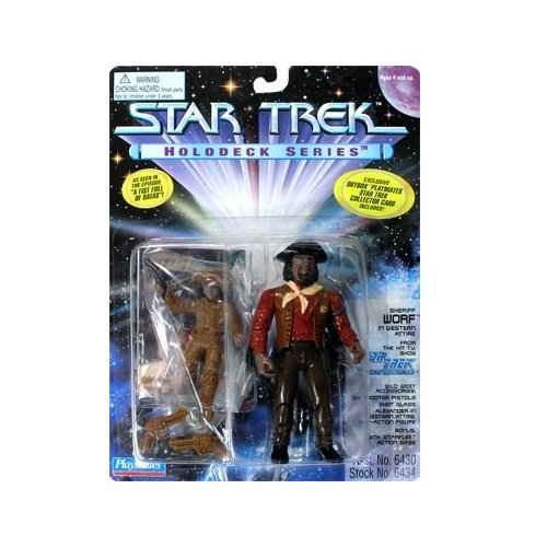 Star Trek: The Next Generation Series 5 Holodeck Sheriff Worf Action Figure