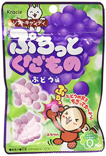 Puchitto Kudamono Grape Candy by Kracie, the makers of Popin' Cookin' (Popin Cookin Grape compare prices)