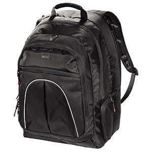 hama vienna l sac dos pour ordinateur portable 17 noir. Black Bedroom Furniture Sets. Home Design Ideas