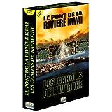 Coffret Guerre 2 DVD : Le Pont de la rivi�re Kwa� / Les Canons de Navaronepar Gregory Peck