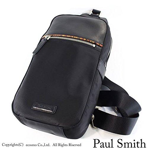 ポールスミス バッグ ショルダー ボディバッグ メンズ ブラック pauls448