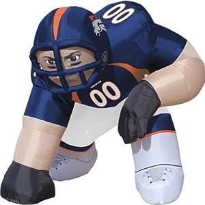 Denver Broncos Bubba Inflatable Lawn Decoration