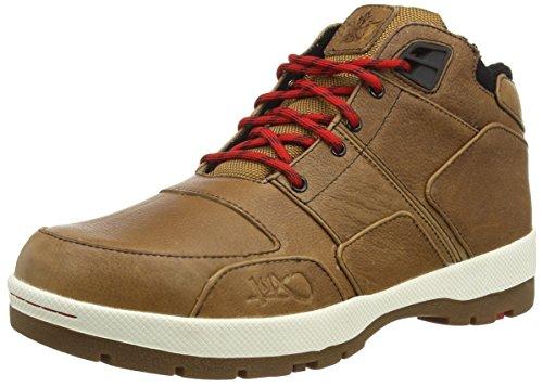 K1X - K1X H1Ke Allxs Le, Alte Scarpe Da Ginnastica da uomo, marrone (brown / egret), 44.5