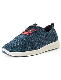 Tom's Men's Viaje Sneaker Legion Blue Mesh