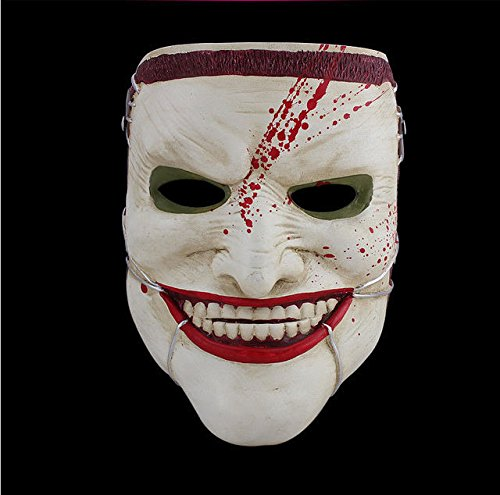 [Hellraiser Style Scary Clown Mask halloween Party Costume Props Collection] (Megaman Halloween Costume)