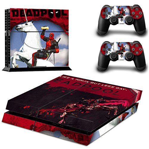 cnn-deadpool-for-sony-playstation-4-skin-sticker-vinyl-stickers-for-ps4-console-x1-controller-skins-