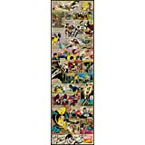 Roommates Xmen Classic Comic Panel Decal (Multi-Color)