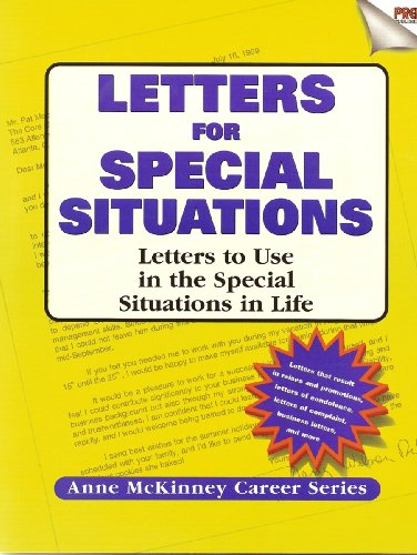 Letters for Special Situations (Real-Resumes Series)