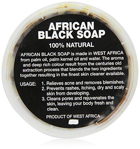 100% Pure African Black Liqiud Soap