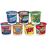 60-Pack Kellogg's Cereal Favorites Variety Pack, 1.5 to 2.8-Ounce Single Serve Cups