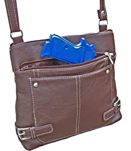 Concealed Carry Purse - Lightweight CCW Crossbody Gun Bag