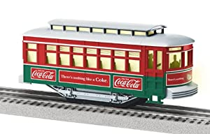 Lionel O-27 Scale Trolley Coca-Cola