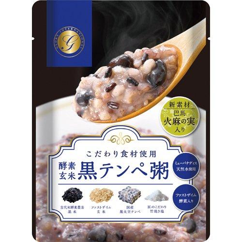 ファストザイム酵素農法 酵素玄米黒テンペ粥