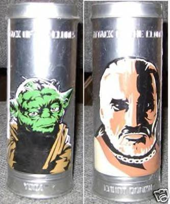 STAR WARS REVERSABLE WATCH YODA & COUNT DOOKU - 1