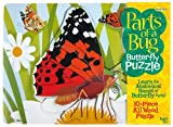 Butterfly Wooden Lifecycle Puzzle - Parts of a Bug