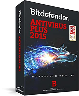 Bitdefender Antivirus Plus 2015 - up to 3 PCs, 1 year [Download]