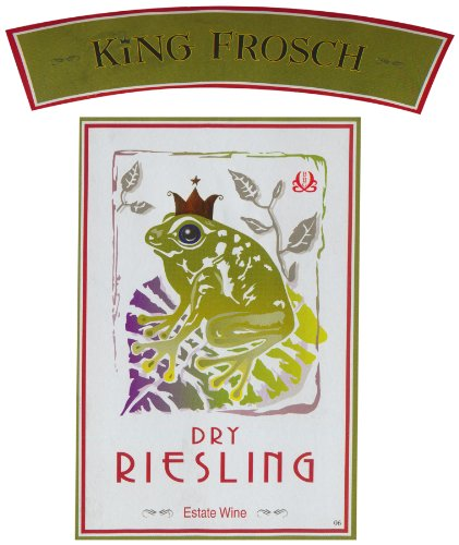 2007 King Frosch Dry Riesling Auslese 750 Ml