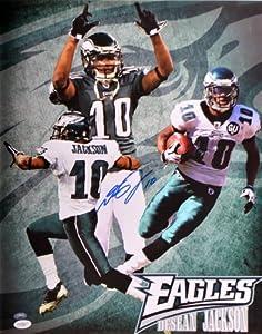 Desean Jackson Signed 16x20 Philadelphia Eagles Photo Nfl W coa Nice Photo