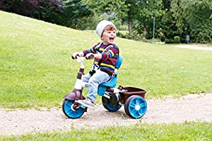 Little Tikes 4-in-1 Sports Edition Trike (Blue/ White)