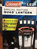 Coleman LED Special Edition Quad Lantern Black