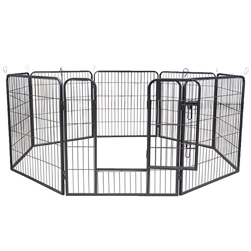 aqpet-recinto-recinzione-box-per-animali-cani-gatti-roditori-80x80cm-per-esterno-giardino